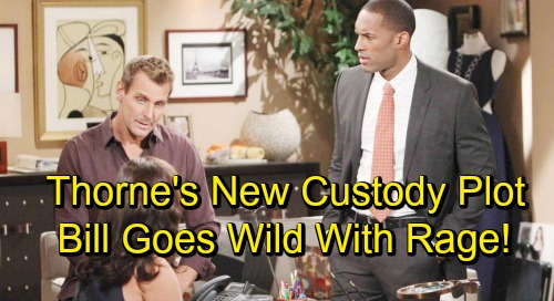The Bold and the Beautiful Spoilers: Thorne's Sneaky New Custody Tactic - Gets Liam and Wyatt To Testify Against Bill