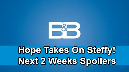 The Bold and the Beautiful Spoilers Next 2 Weeks: Jealous Hope Demands Liam Side Against Steffy – Reese and Brooke Face Off