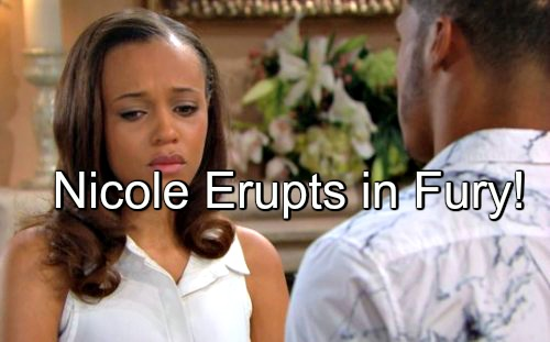 The Bold and the Beautiful (B&B) Spoilers: Sasha Brags About Zende's Love – Nicole Erupts in Fury, Pregnancy at Risk