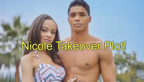 The Bold and the Beautiful (B&B) Spoilers: Nicole Needs Sasha Gone, Plots Zende Takeover – Julius' Rejection Enrages Sasha