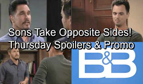 The Bold and the Beautiful Spoilers: Thursday, September 20 – Liam and Wyatt Take Sides in Custody Battle – Ridge and Bill Play Dirty