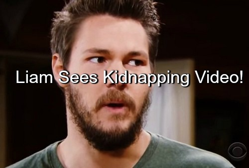 The Bold and the Beautiful (B&B) Spoilers: Liam Furious Over Kidnapping Video - Believes Wyatt Conspired with Quinn