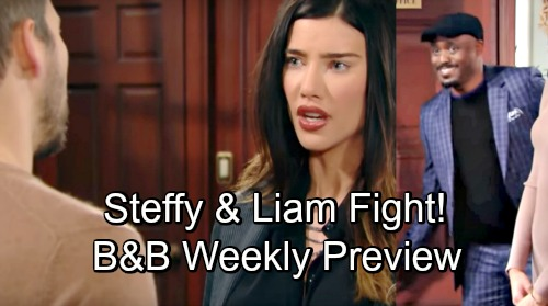 The Bold and the Beautiful Spoilers: Shocking Promo Week of November 26 – Liam and Steffy Fight Over Taylor – Wayne Brady's B&B Debut