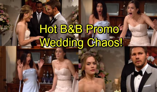 The Bold and the Beautiful Spoilers: Hot B&B Promo – Liam and Hope's Wedding Brings Chaos, Major Shockers Ahead