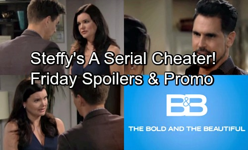 The Bold and the Beautiful Spoilers: Friday, May 18 – Katie Warns Steffy Will Cheat Again – Bill Holds Out Hope
