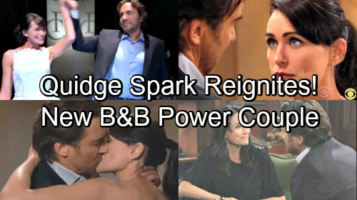 The Bold and the Beautiful Spoilers: Ridge and Quinn's Spark Reignites – New B&B Power Couple?