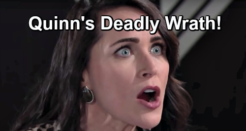 The Bold and the Beautiful Spoilers: Quinn Invites Trouble – False Friend Shauna Faces Deadly Wrath After Baby Swap Discovery