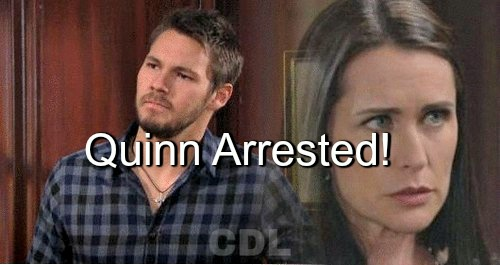 The Bold and the Beautiful (B&B) Spoilers: Quinn Arrested for Liam Kidnapping – Can She Escape Justice?