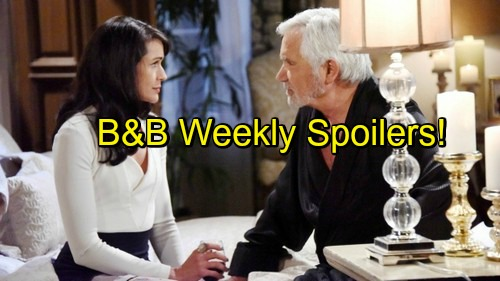 The Bold and the Beautiful Spoilers: Week of November 14 – Jealous Rage For Quinn, Second Thoughts For Eric
