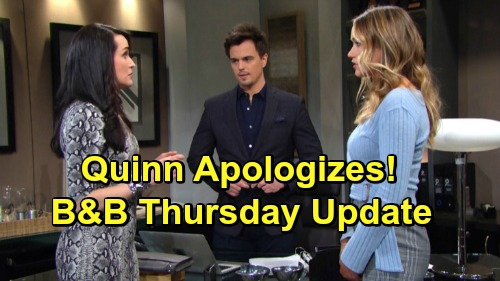 The Bold and the Beautiful Spoilers: Thursday, March 28 Update – Sally Considers Betrayal, Wyatt Fumes – Reluctant Quinn Obeys Orders
