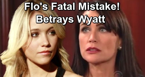 The Bold and the Beautiful Spoilers: Baby Swap Reveal Turns Quinn Against Flo - Outraged Mom Seeks Revenge For Wyatt Betrayal