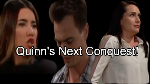 'The Bold and the Beautiful' Spoilers: Quinn Gets Sexy for Her Man, Wyatt Suspicious of Mom's Glow – More Trouble Brewing!