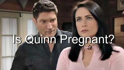 The Bold and the Beautiful (B&B) Spoilers: Quinn Glowing – Is She Pregnant With Liam's Baby?