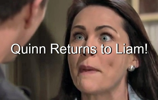 The Bold and the Beautiful (B&B) Spoilers: Quinn Sneaks Back to See Liam – Shocking Confrontation for Former Lovers