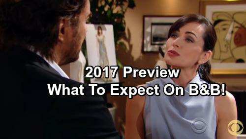 The Bold and the Beautiful Spoilers: Preview of 2017 Hot Stories – New Year Brings Intense Drama