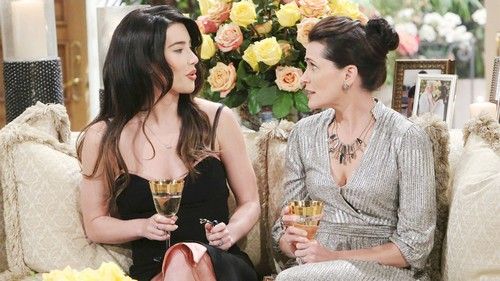 The Bold and the Beautiful Spoilers: Next 2 Weeks - Quinn Accidentally Reveals Steffy and Bill's Cheating To Liam