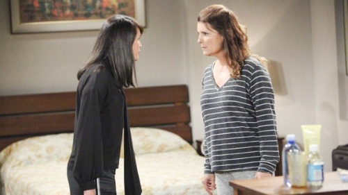 The Bold and the Beautiful Spoilers: Monday, September 18 - Quinn and Sheila Brawl – Brooke Goes Insane at Bill