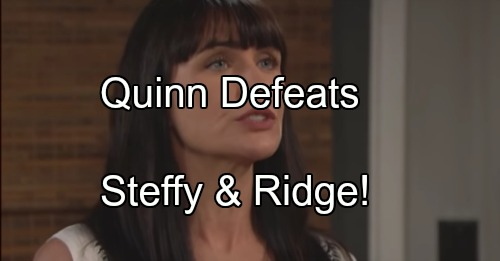 The Bold and the Beautiful Spoilers: Ridge and Steffy Cook Up Sneaky Scheme – Plan to Keep Eric Away from Quinn Fails Miserably