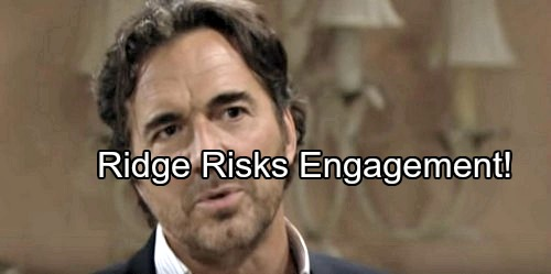 The Bold and the Beautiful Spoilers: Brooke Considers Thorne's Bold Offer – Ridge Uses Quinn Again, Risks Engagement