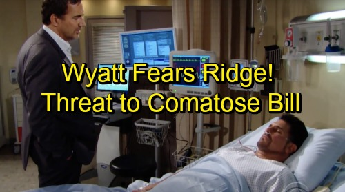The Bold and the Beautiful Spoilers: Wyatt Fears Ridge's Next Deadly Move – Will Bill's Rival Pull The Plug?