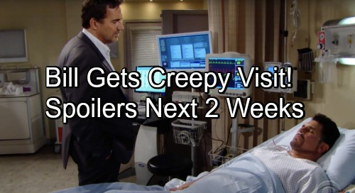 The Bold and the Beautiful Spoilers Next 2 Weeks: Comatose Bill Gets Threatening Visit – Quinn's Startling Confession to Eric