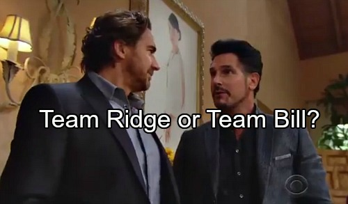 The Bold and the Beautiful Spoilers: Team Ridge or Team Bill – Who Has Steffy's Best Interests At Heart?