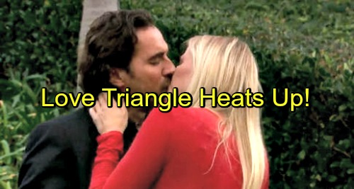 The Bold and the Beautiful Spoilers: Ridge and Brooke Share Passionate Kiss – Love Triangle Heats Up as Bill Loses Brooke