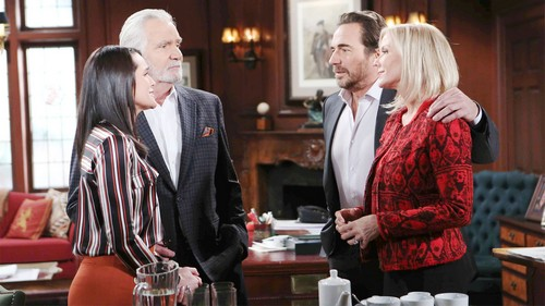 The Bold and the Beautiful Spoilers: Ridge and Brooke Look to Future – Pleasant B&B Scenes Appreciated