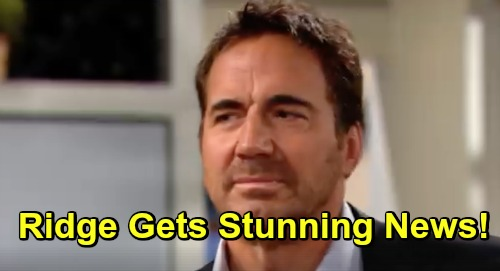 The Bold and the Beautiful Spoilers: Ridge Learns About Taylor Shooting Bill - Gears Up For Fight With Brooke