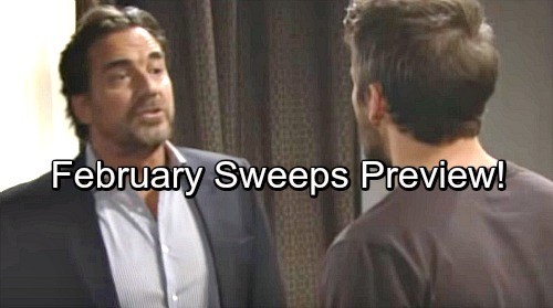 The Bold and the Beautiful Spoilers: February Sweeps Preview – Bitter Battles, Romantic Shakeups and a Mega Takedown
