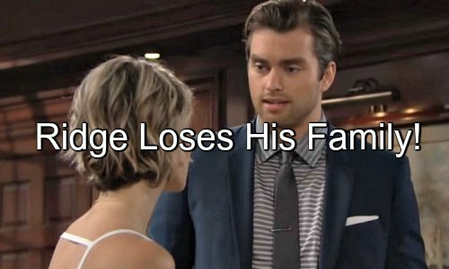 The Bold and the Beautiful (B&B) Spoilers: Ridge Grows Darker as Paternity Secret Explodes – Loses Caroline and Baby