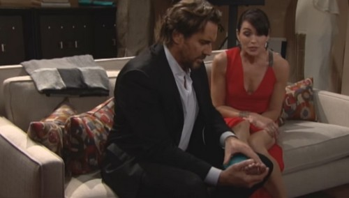 The Bold and the Beautiful Spoilers: Ridge Surprises Injured Quinn by Taking Care of Her – Bill Senses an Opportunity to Win Brooke Back
