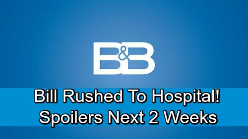 The Bold and the Beautiful Spoilers Next 2 Weeks: Wounded Bill Rushed to Hospital – Hope and Liam's Shocking Baby News