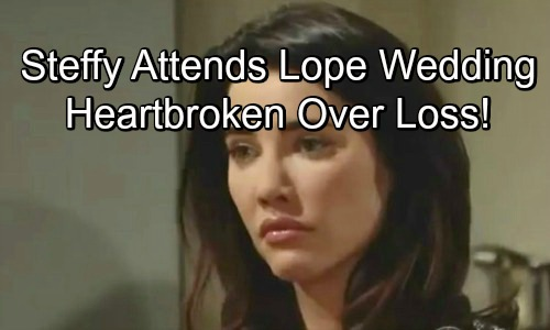 The Bold and the Beautiful Spoilers: Steffy Insists on Attending Lope Wedding – Struggles Through Liam and Hope's Heartfelt Vows