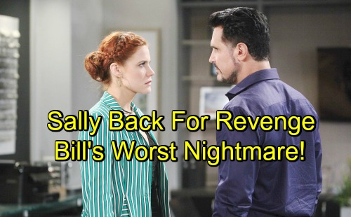 The Bold and the Beautiful Spoilers: Hurricane Sally Hits Town for Revenge – Bill's Old Foe Becomes Worst Nightmare
