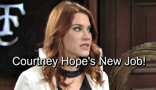 The Bold and the Beautiful Spoilers: Courtney Hope Gets an Exciting New Gig