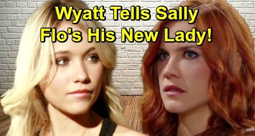 The Bold and the Beautiful Spoilers: Week of May 20 - Wyatt Crushes Sally, Reveals He's Moving on with Flo