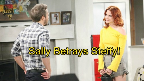 The Bold and the Beautiful Spoilers: Sally's Daring Question Stuns Liam – Betrays Steffy, Trust Issues Grow