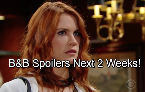 The Bold and the Beautiful Spoilers Next 2 Weeks: Sally Works to Clear Name – Bill Gets Pregnancy News - Xander Haunted by Past