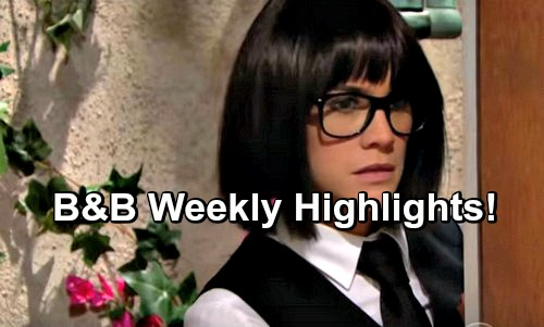 The Bold and the Beautiful Spoilers: Week of February 13 Highlights – Risky Moves, Total Bliss and Growing Doubts