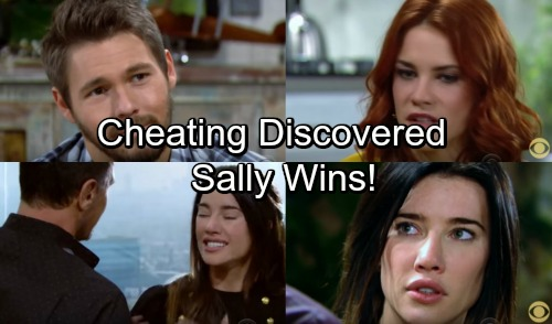 The Bold and the Beautiful Spoilers: Cheating Discovery Destroys Steffy's Balance Between Liam and Bill - Sally Wins