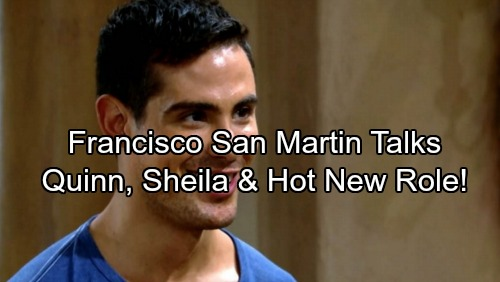 The Bold and the Beautiful Spoilers: Francisco San Martin Talks B&B Role – Sheila Uses Family Tragedy to Force Mateo's Hand