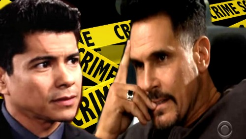 The Bold and the Beautiful Spoilers: Detective Sanchez Recreates Crime Scene – Desperate Bill Struggles to Protect Liam