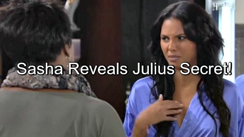 The Bold and the Beautiful (B&B) Spoilers: Sasha Pushed to Breaking Point - Reveals Family Destroying Secret During May Sweeps