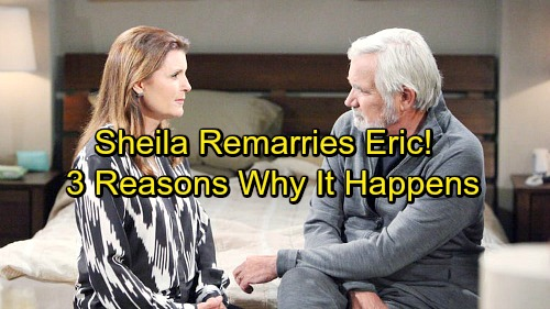 The Bold and the Beautiful Spoilers: Sheila Remarries Eric - 3 Reasons Why She Succeeds