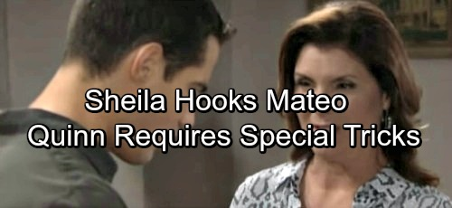 The Bold and the Beautiful Spoilers: Sheila Hooks Mateo, Quinn Remains Tough Opponent - Shelia Takes Desperate Measures