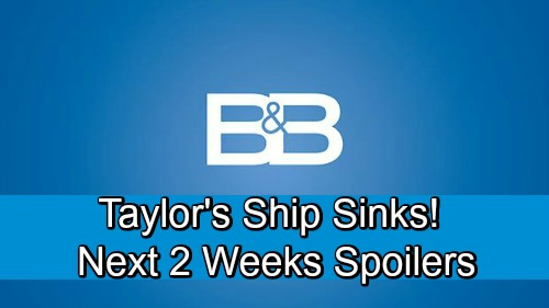 The Bold and the Beautiful Spoilers Next 2 Weeks: Brooke Reels Over Bill Shooter Bombshell – Zoe's Misery – Pam's Dark Obsession Grows