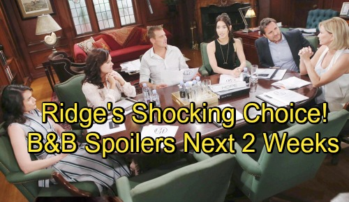 The Bold and the Beautiful Spoilers Next 2 Weeks: Ridge's Shocking Choice Between Steffy and Hope FC Fashion Lines Revealed