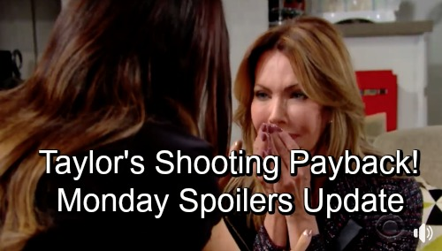 The Bold and the Beautiful Spoilers: Monday, November 26 Update – Taylor Fears Payback For Shooting Bill – Brooke's Faith Stuns Liam