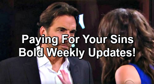 The Bold and the Beautiful Spoilers: Updates For Week of February 20 – Growing Threats, Big Decisions and Serious Sabotage
